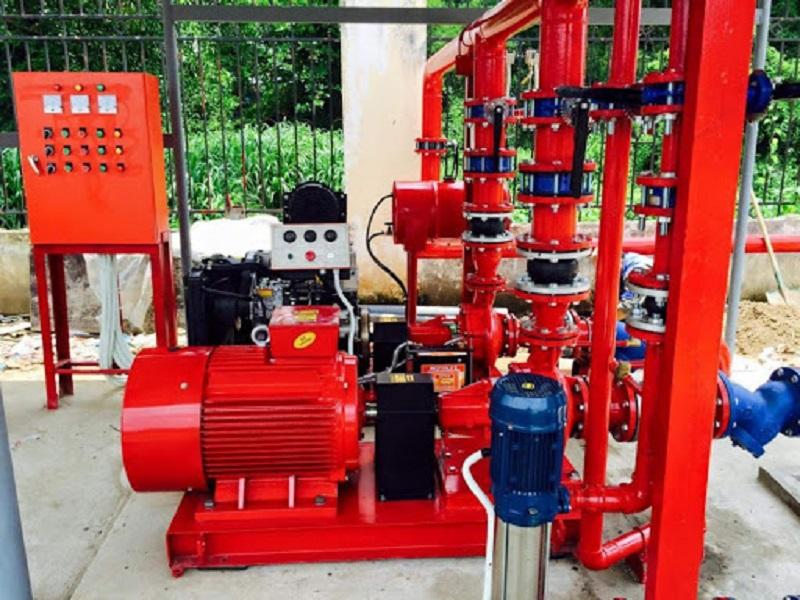 Lắp đặt hệ thống phòng cháy chữa cháy